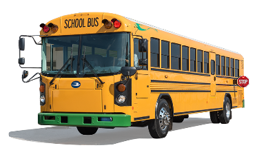 Alternative Fuel Blue Bird Bus